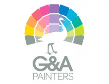G&A Painters – business card and logo design