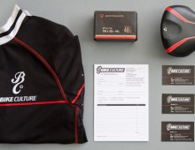 Bike Culture – form, business card and cycling kit design
