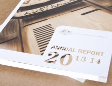 High Court of Australia – Annual Report 2013–14 design