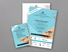 Australian Office of Financial Management – Conference Branding and Collateral