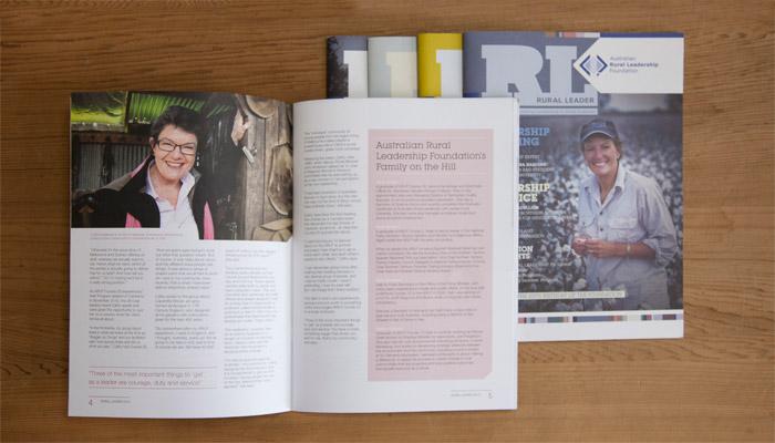 ARLF Magazine design Canberra