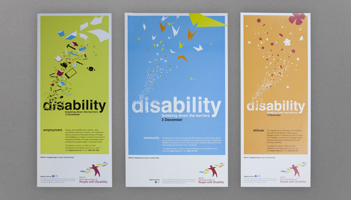 Disability Poster design