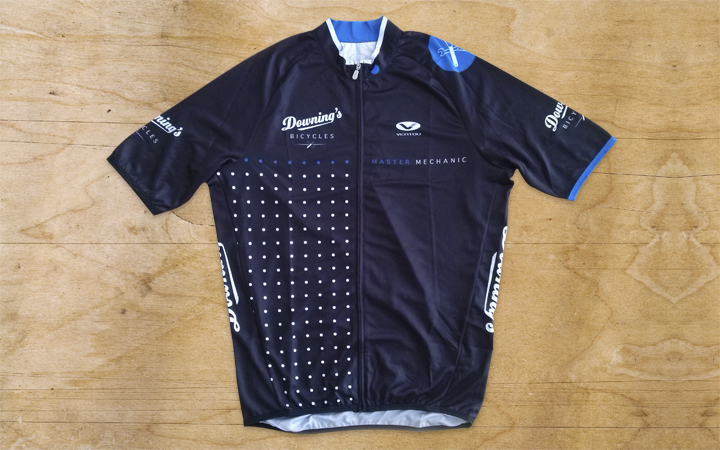 Downing's Cycling Kit design
