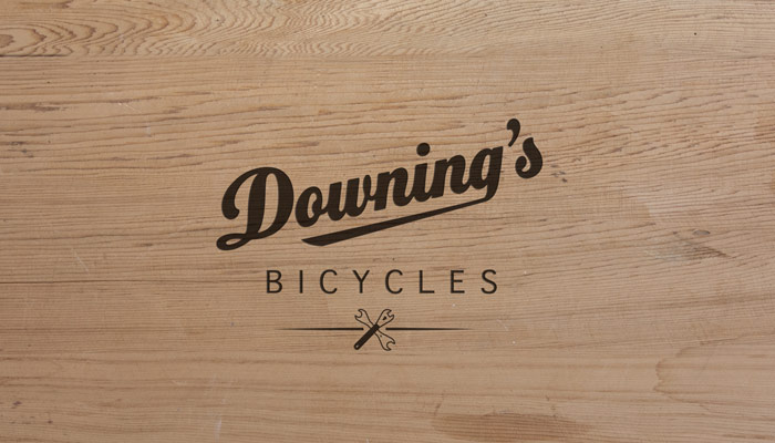 Downing's logo design