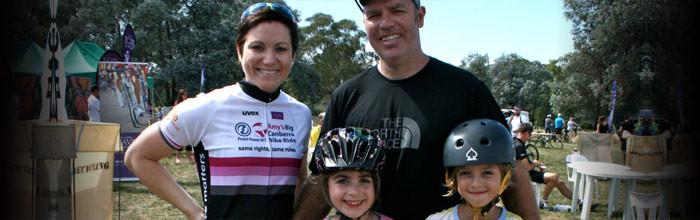 SG @ Amy's Big Canberra Bike Ride