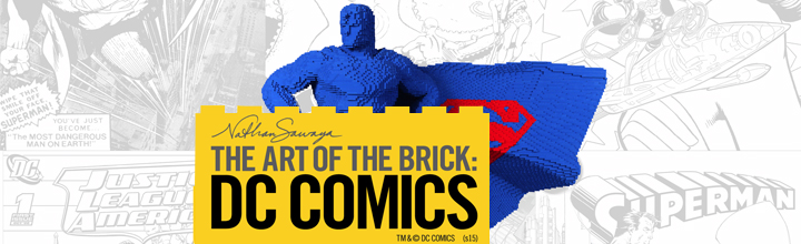 Spectrum at The Art of the Brick: DC Comics