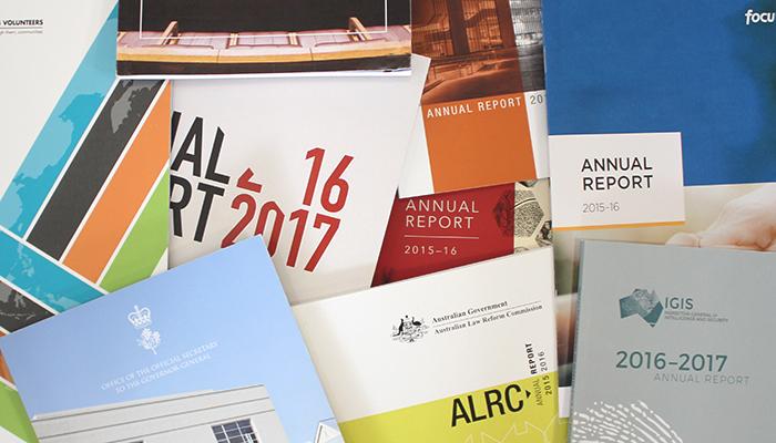 Annual Report design Canberra
