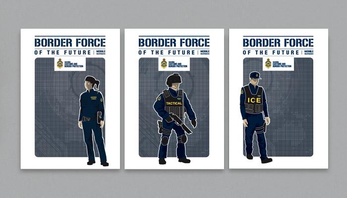 Australian Border Poster
